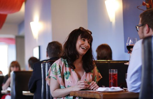 Lisa Zimmerman on a date at Play in Ottawa May 14, 2014. Photo by Blair Gable for Maclean's Magazine